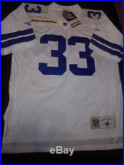 Dallas Cowboys Tony Dorsett Reebok NFL Vintage Authentic Jersey Large ADULT