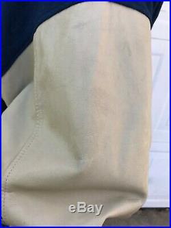 Dallas Cowboys Wool / Leather Nike Letterman / Varsity Jacket Aikman Smith Vntg
