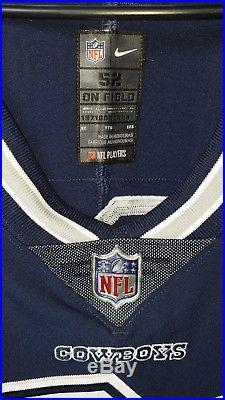 798f4dbc42217 Dallas Cowboys Zeke Elliot Nike Navy Vapor Untouchable Custom Elite Jersey