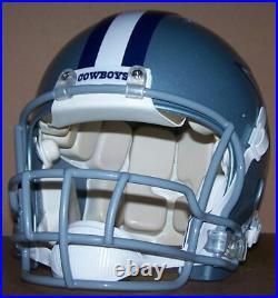Dallas Cowboys fullsize Riddell Revolution football helmet