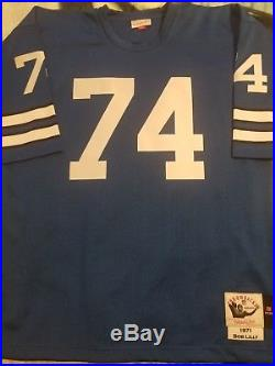 Dallas Cowboys jersey Bob Lilly Mitchell Ness 48