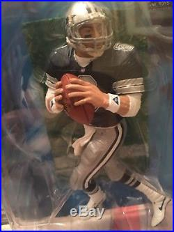 Dallas Cowboys lot McFarlane Aikman Emmitt Superbowl 28 ball jersey figures