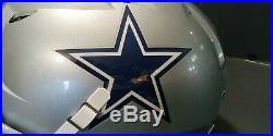 Dallas Cowboys team issued full size helmet(size xxl)