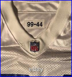 Dallas Cowboys vintage Deion Sanders 1999 Nike game issued jersey Size 44
