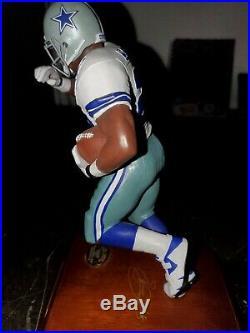 Dallas cowboys Danbury Mint Troy aikman And Emmitt Smith Sculptures
