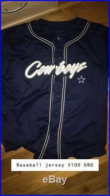 Dallas cowboys baseball jersey
