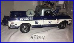 Danbury Mint Dallas Cowboys 1972 Chevy Tailgate Pickup Truck 124 In Original Bo