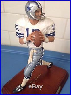 Danbury Mint Dallas Cowboys Roger Staubach /// Un-displayed