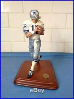 Danbury Mint Dallas Cowboys Roger Staubach /// Very Good Condition