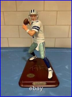 Danbury Mint Dallas Cowboys Tony Romo Comes in the Original Box