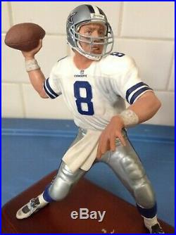 Danbury Mint Dallas Cowboys Troy Aikman /// Very Good Condition