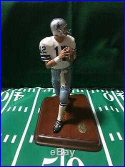 Danbury Mint Roger Staubach Dallas Cowboys NFL Figurine
