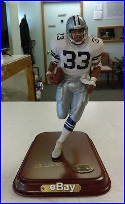 Danbury Mint Tony Dorsett Dallas Cowboys All Star NFL Football Rare! HTF a2f1ad7ab
