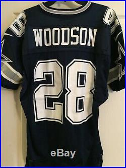 Darren Woodson Dallas Cowboys Game Used Worn Jersey 1996 Possible Playoff Game