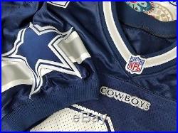Deion Sanders Dallas Cowboys Vintage Authentic Wilson Football Jersey Sz 52 XL