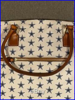 Dooney and Bourke Dallas Cowboys Tote NFL 29x17