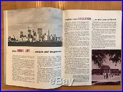 EXTREMELY RARE Vintage 60s NFL Dallas Cowboys Football Drafting Rookie Magazine