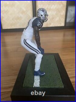 EZEKIEL ELLIOTT custom Mcfarlane figure DALLAS COWBOYS White Jersey Helmet NFL