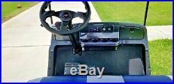 EZGO Custom Dallas Cowboys 4 Passenger Seat Golf Cart Car 36V TXT