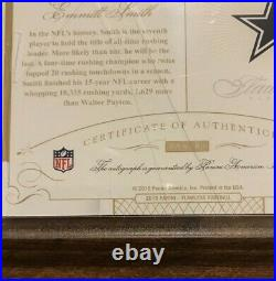 Emmitt Smith 2015 Flawless Memorable Marks Auto MM-ES Dallas Cowboys 2/10 HOF