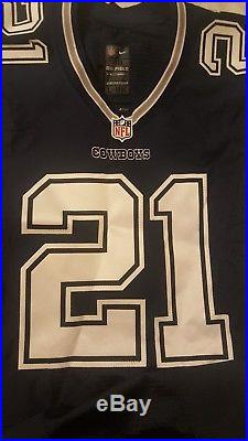 Ezekiel Elliott 2016 Dallas Cowboys Authentic Nike Un-Used Game Jersey
