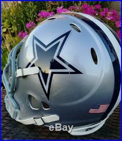 Full Size Dallas Cowboys Riddell NFL Football Helmet