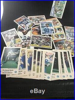 HUGE Dallas Cowboys Vintage Card Lot Over 1300 Cards