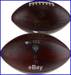 Jacksonville Jaguars Game-Used Football vs. Dallas Cowboys on October 14, 2018