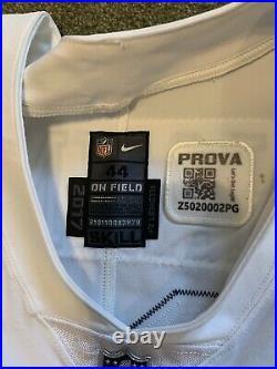 James Hanna Dallas Cowboys Game Used Worn Color Rush Jersey Uniform Panini Coa