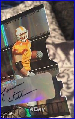 Jason Witten 2003 Elite RC Auto Autograph #/125 Vols Cowboys