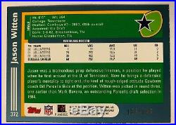 Jason Witten 2003 Topps Rookie Black Border SP /150 Rare! Cowboys