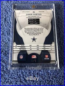 Jason Witten 3 Card 1/1 Lot Patch Autograph NFL SHIELD Superfractor Cowboys