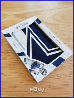 Jason Witten /4 STAR LOGO (2019 Immaculate) Dallas Cowboys Star Prime Patch