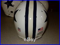 Jason Witten Autod Dallas Cowboys Game Used Helmet Throwback ReCertified in 2010