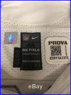 Jason Witten Dallas Cowboys Game Worn Game Used Jersey COA And Hologram Prova
