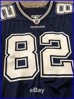Jason Witten Dallas Cowboys Game Worn Game Used Jersey Signed Steiner PSA DNA