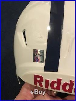 Jason Witten Signed Dallas Cowboys Game Used Helmet Jsa Witness