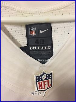 Jeff Heath Dallas Cowboys #38 Autographed Nike Game Used Jersey JSA COA