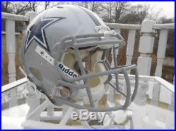 Kenwin Cummings Game Used Dallas Cowboys Helmet / Jersey
