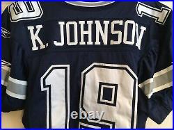 Keyshawn Johnson Dallas Cowboys Game Used Worn Jersey 2005 Navy Jets Bucs USC