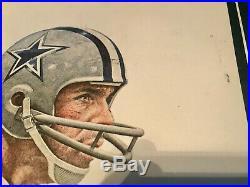 Lot Of 6 Dallas Cowboys Silver Season Posters 1960-1984 Pizza Hut Dr Pepper