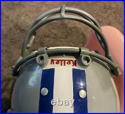 MacGregor Kelley MH100 Clear Shell Dallas Cowboys Football Helmet