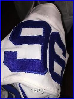 Maliek Collins #96 Dallas Cowboys Game Used Worn Jersey Prova Nebraska Rookie YR