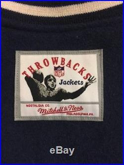 Mitchell & Ness Cowboys Reversible Wool Jacket XL