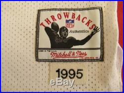 Mitchell Ness M&N Troy Aikman Authentic Dallas Cowboys jersey sz 52 2XL USA RARE