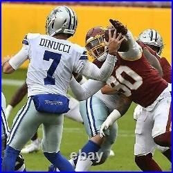 Montez Sweat Washington Football Team Game Used Jersey vs Dallas Cowboys (withCOA)