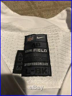Morris Claiborne Dallas Cowboys Game Used Game Worn Jersey Jetd LSU
