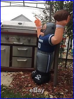 NFL Dallas Cowboys Apparel Inflatable AirBlown Yard Football Player Gear
