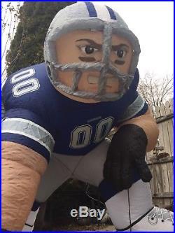 NFL Dallas Cowboys Apparel Inflatable Yard Bubba Football Player Gear