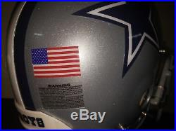 NFL Dallas Cowboys Game Used Team & Player Issued Riddell Helmet